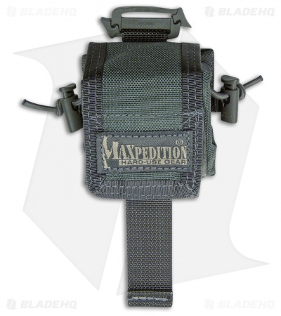 Maxpedition Mini Rollypoly Foliage Green Folding Dump Utility Bottle Pouch 0207F