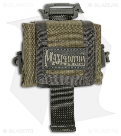 Maxpedition Mini Rollypoly Khaki/Foliage Folding Dump Utility Bottle Pouch 207KF