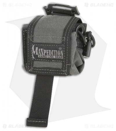 Maxpedition Mini Rollypoly Wolf Gray Folding Dump Utility Bottle Pouch 0207W