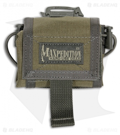 Maxpedition Rollypoly MM Khaki/Foliage Folding Dump Utility Pouch 0208KF
