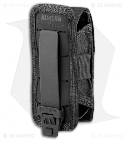Maxpedition SES Single Pouch Sheath (Black) SESBLK