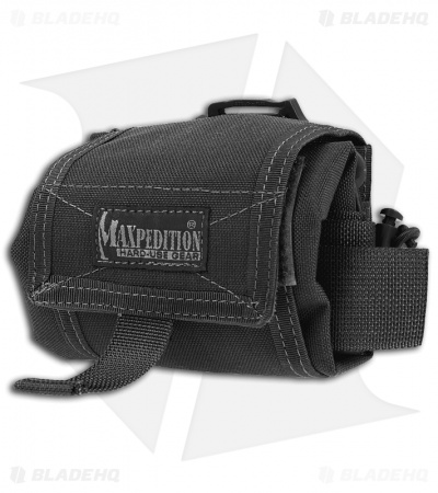Maxpedition Mega RollyPoly Folding Dump Pouch Black 0209B