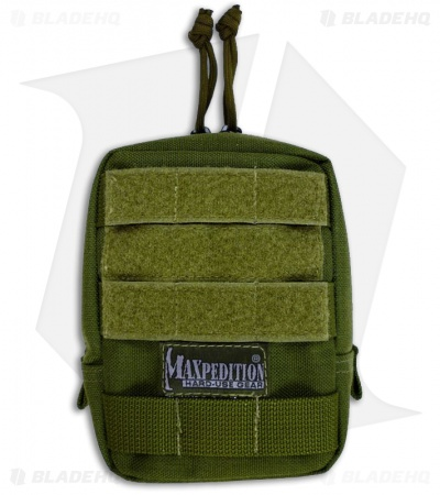 "Maxpedition 4.5"" x 6"" Padded OD Green Pouch 0248G"