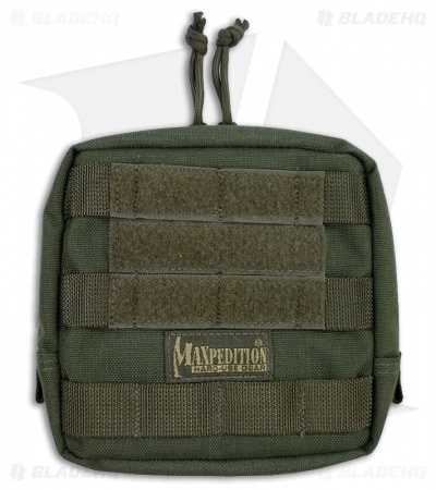 "Maxpedition 6"" x 6"" Padded Foliage Green Pouch 0249F"