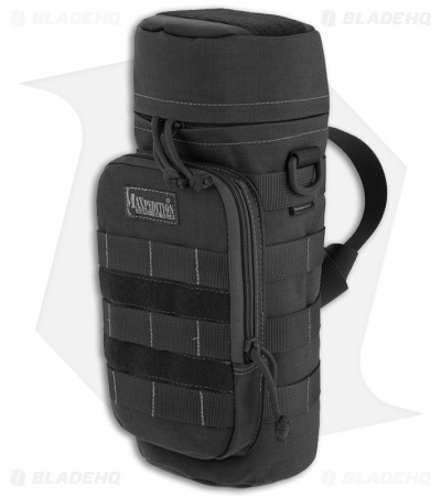 "Maxpedition 12"" x 5"" Nalgene Bottle Holder Bag Travel Case Black 0323B"