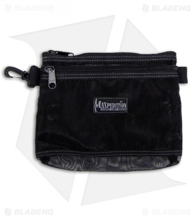 "Maxpedition Moire Pouch 8"" x 6"" Black 0809B"