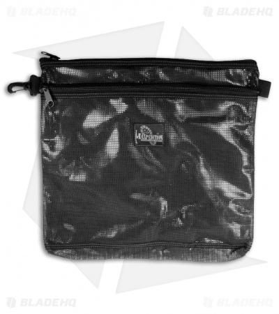 "Maxpedition Moire Pouch 12"" x 12"" Black 1808B"