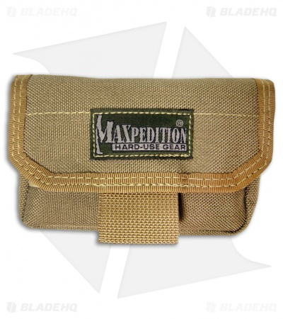 Maxpedition Volta Battery Case Khaki Pouch Organizer Pocket 1809K