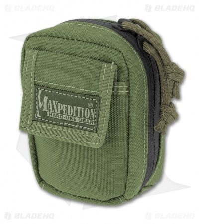 Maxpedition Barnacle OD Green Utility Pouch 2301G