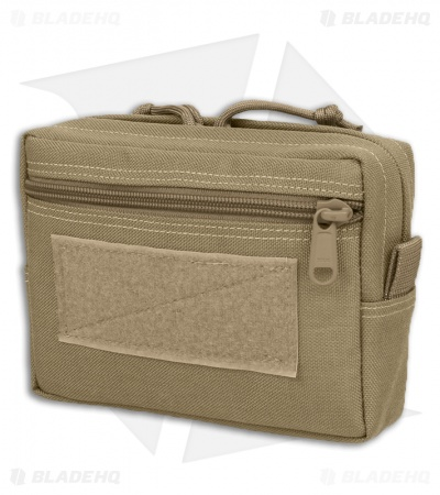 "Maxpedition 5"" x 7"" x 2"" Low Profile Horizontal GP Khaki Pouch 0244K"