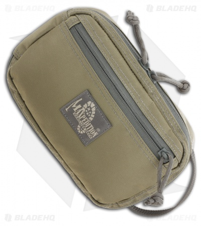 Maxpedition Large Hook-&-Loop Modular Two Way Pocket Khaki/Foliage 3534KF