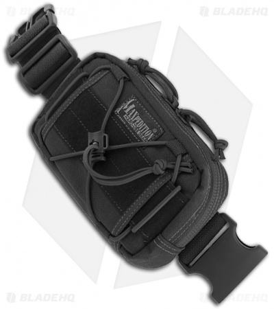 Maxpedition Janus Extension Pocket Black Pouch 8001B