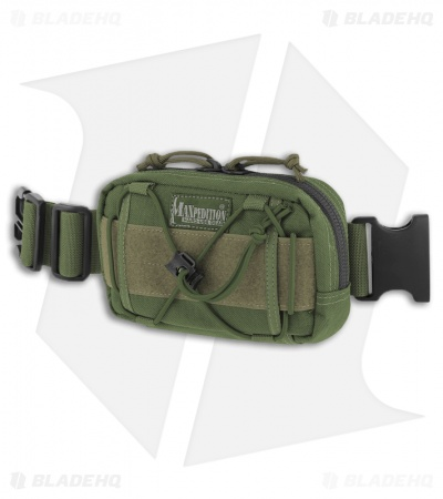 Maxpedition Janus Extension Pocket OD Green Pouch 8001G
