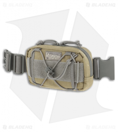 Maxpedition Janus Extension Pocket Khaki-Foliage Pouch 8001Kf
