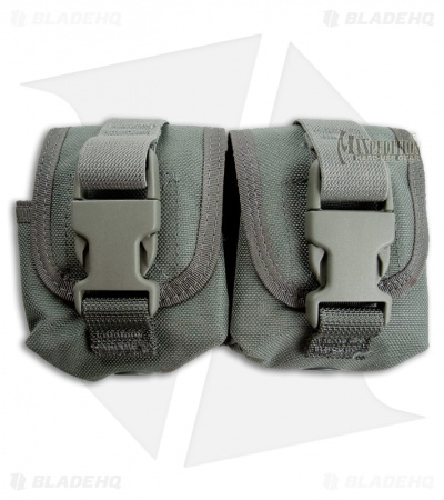 Maxpedition Double Frag Grenade Pouch Foliage Green 1436F