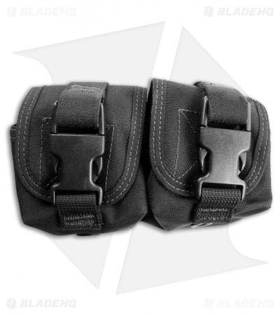 Maxpedition Double Frag Grenade Pouch Black 1436B