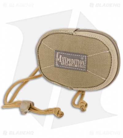Maxpedition Coin Purse Zippered Pouch Khaki PT1190K