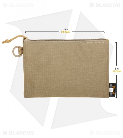 Maxpedition Large Block Sack RFID-Blocking Pouch Khaki PT1197K