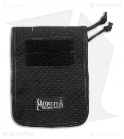 "Maxpedition 4"" x 6"" Notebook Cover Black 3303B"