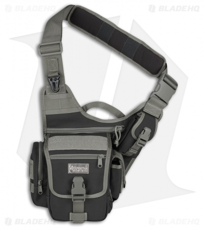 Maxpedition Fatboy Versipack Black/Foliage  Shoulder Sling Pack Bag 0403BF