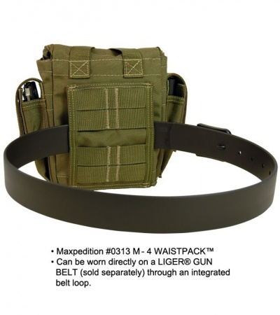 Maxpedition M-4 OD Green Waistpack 0313G
