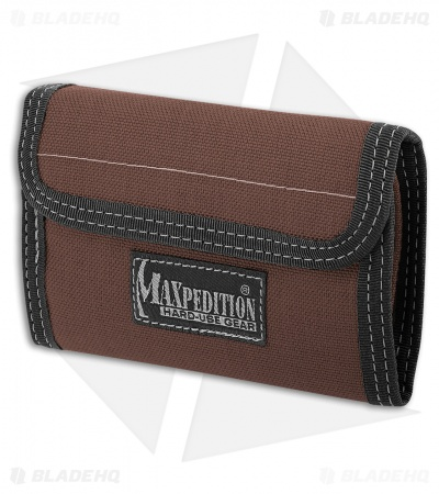 Maxpedition Spartan Dark Brown Wallet 0229BR