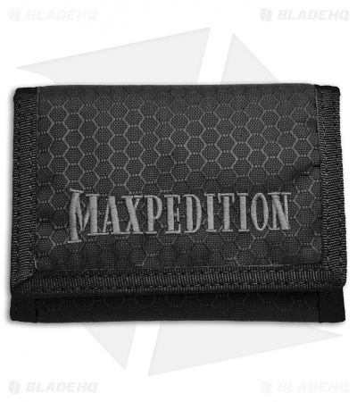 Maxpedition TFW Tri Fold Wallet (Black) TFWBLK
