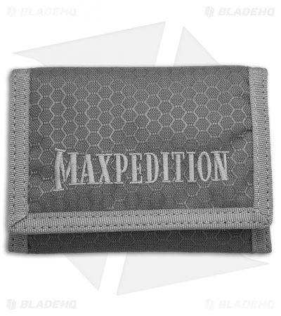 Maxpedition TFW Tri Fold Wallet (Gray) TFWGRY
