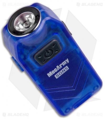 MecArmy SGN5 Blue Rechargeable Flashlight CREE XP-G2 S3 (560 Lumens)