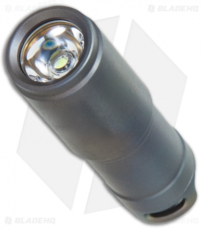 MecArmy X1S Rechargeable Mini Titanium Flashlight Blue/Gray (130 Lumens)