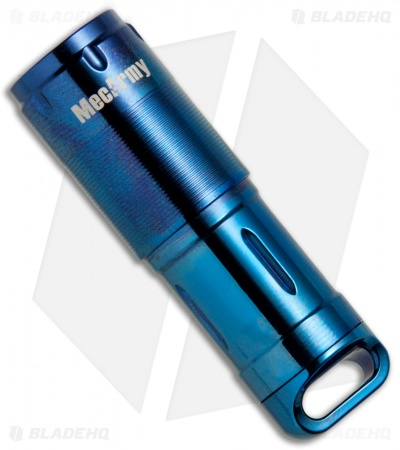 MecArmy X2S Stainless Steel Blue PVD Flashlight CREE XP-G2 (130 Lumens)