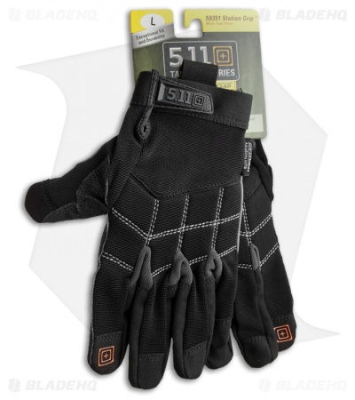 5.11 Tactical Station Grip Multi-Task Gloves (Black) 59351