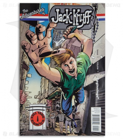 "The Adventures of Jack Knyff ""Beginnings"" Comic Book (Issue 1/Volume 1) MKT"