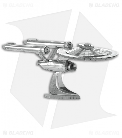 Star Trek TOS USS Enterprise - Fascinations Metal Earth 3D Steel Models