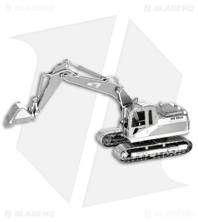 CAT Excavator - Fascinations Metal Earth 3D Laser Cut Steel Models