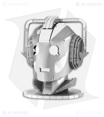Doctor Who Cyberman Head - Fascinations Metal Earth 3D Laser Cut Steel Models