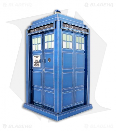 Doctor Who TARDIS - Fascinations Metal Earth 3D Laser Cut Steel Models
