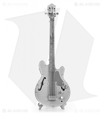 Metal Earth 3D Laser Cut Steel Models (Electric Bass Guitar)
