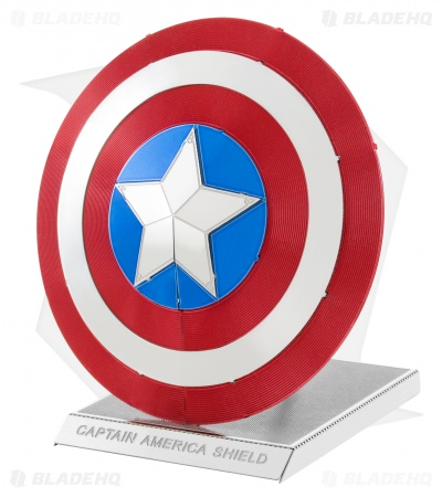 Captain America's Shield - Fascinations Metal Earth 3D Laser Cut Steel Models