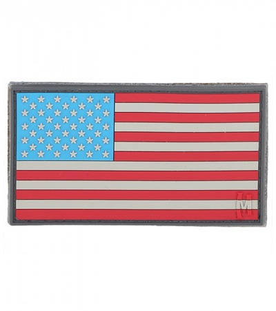 "Maxpedition Large 3.25"" x 1.75"" USA Flag Patch (Full Color) USA2C"