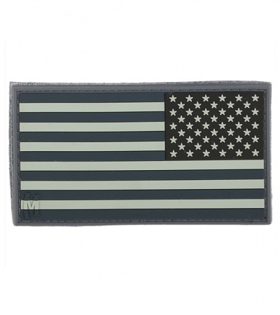 "Maxpedition Large 3.25"" x 1.75"" Reverse USA Flag Patch (SWAT) US2RS"
