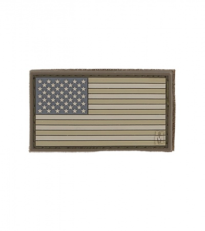 "Maxpedition Small 2"" x 1"" USA Flag Patch (Arid) USA1A"
