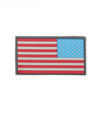 "Maxpedition Small 2"" x 1"" Reverse USA Flag Patch (Full Color) US1RC"