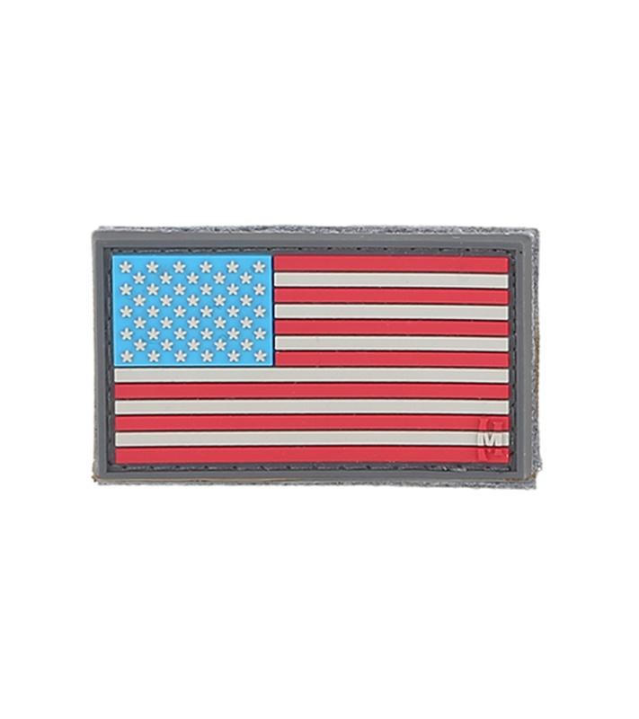 Peel /& Stick temporarypermanent American Flag 2PK Patches