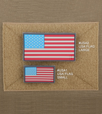 "Maxpedition Large 3.25"" x 1.75"" USA Flag Patch (SWAT) USA2S"