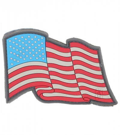 "Maxpedition Star Spangled Banner 3"" x 2"" Flag Patch (Full Color) STSBC"