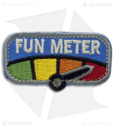 MSM Fun Meter Hook Velcro Back Patch (Full Color)