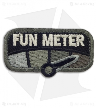 MSM Fun Meter Hook Velcro Back Patch (SWAT)
