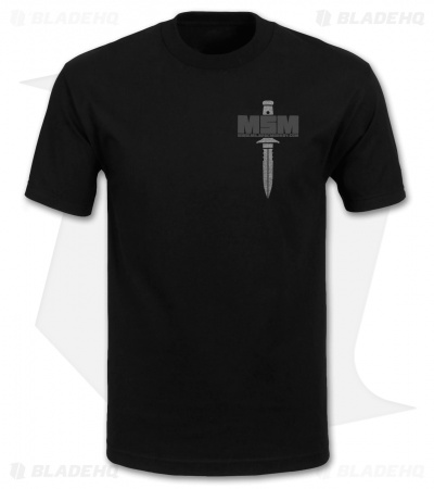 MSM If I Tell You T-Shirt (Black)