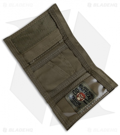 MSM Practical Results Tri Fold Cordura Wallet (Ranger Green)